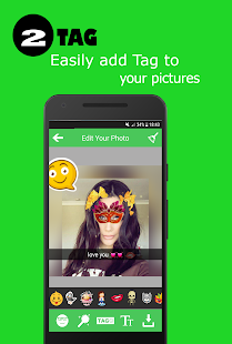 filters & stickers for whatsapp stories - náhled
