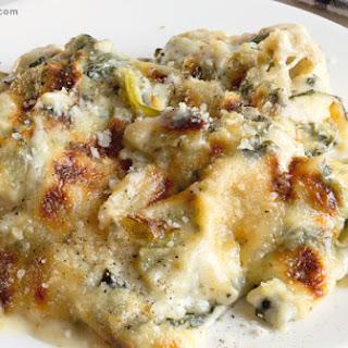 Artichoke Chicken Florentine Casserole
