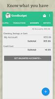 Screenshot of Goodbudget: Budget & Finance