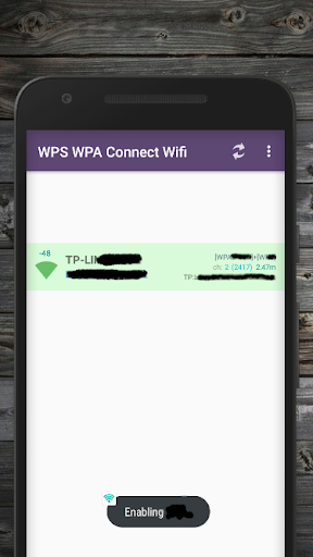 WPS WPA2 Connect Wifi 3.1.8-Beta-G screenshots 1