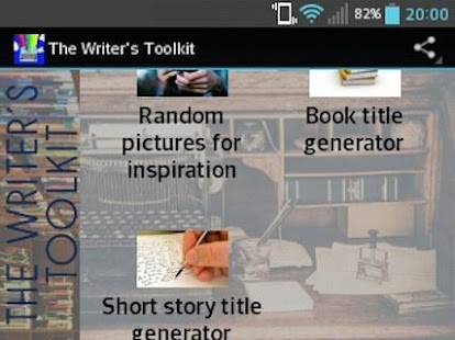 The Writer's Toolkit- screenshot thumbnail