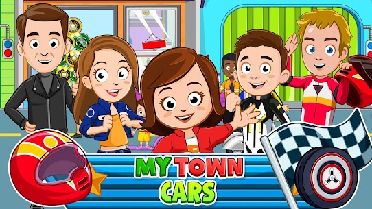 My Town: Car Garage Wash & fix kids car game MOD (Paid Content) 1