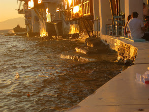 Photo: the seawall is another good place for sunset