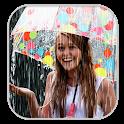 Rain Photo Effect : Video Maker icon