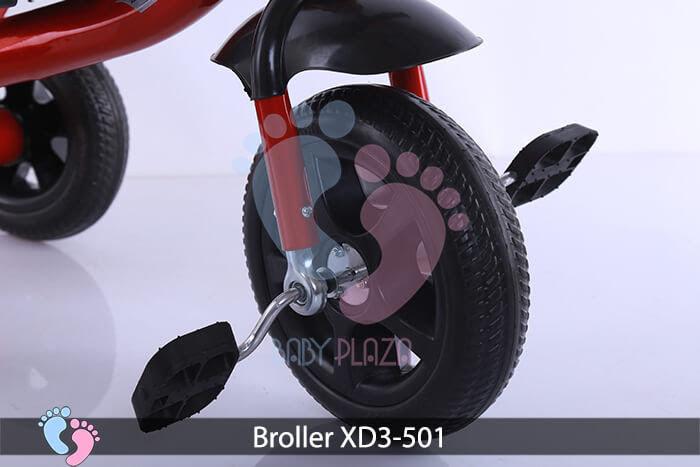 Xe đạp ba bánh Broller XD3-501 6