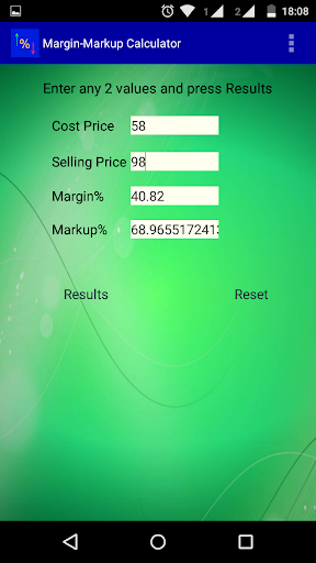 Margin Markup Calculator- BETA