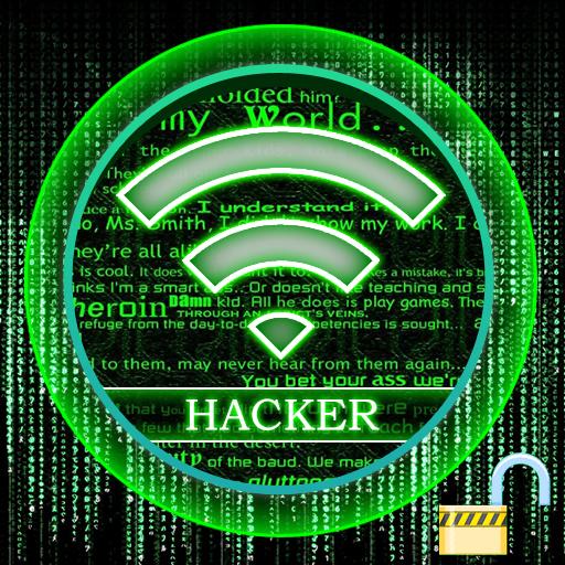 无线密码黑客 Prank 娛樂 App LOGO-APP試玩
