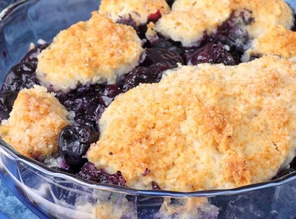 Warm Blueberry Cobbler Recipe
