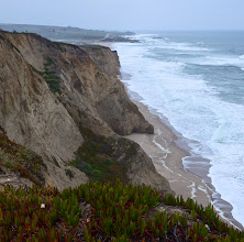 Photo: 2. I did a similar trip a little over a year ago, where I flew into San Francisco and drove up the North Coast toward Oregon, focusing on the coastline around Mendocino/Ft. Bragg and Eureka/Redwoods National Park. If you are driving up the coast north of San Francisco, you might want to check out my web album from that trip, labeled CA North Coast. .... This photo was taken along Highway 1 south of Half Moon Bay, somewhere near Pescadero. You can see how close Highway 1 hugs the coastline. I didn't find this section of the coast to be nearly as scenic as the Big Sur area or the North coast near Jenner, but it was sure fun to see the ocean again and it put me in a very good mood, after a day of travel related delays.