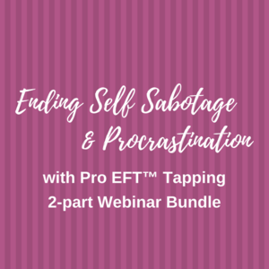 Ending Self Sabotage Course