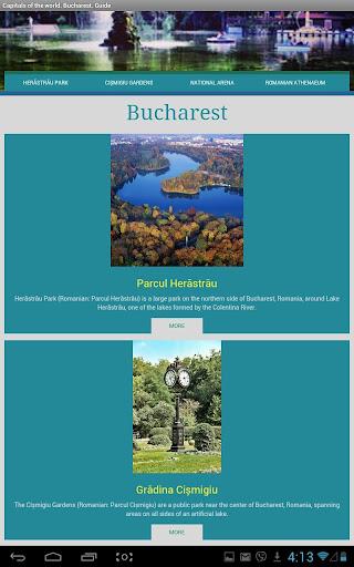 World Capitals.Bucharest.Guide