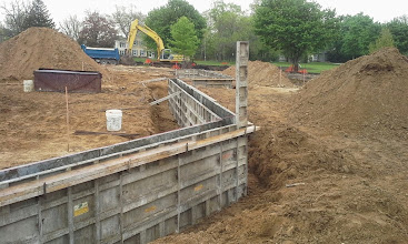 Photo: Backstop with 1st Base Dugout in Background 05-19-2014