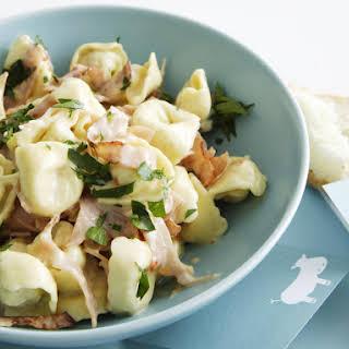 Tortellini with Ham.