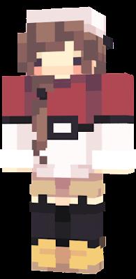 Pokemon Trainer Minecraft Skins