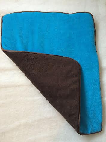 Underlägg blå och svart