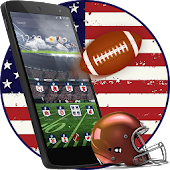 American Rugby Football Launcher