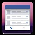 Swipe Widget for Facebook BETA icon