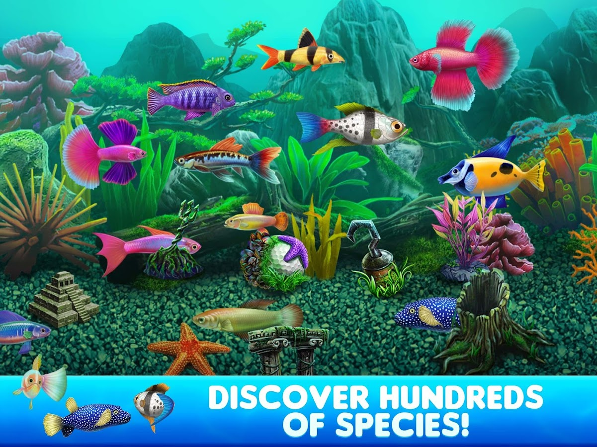 Fish tycoon 2 virtual aquarium android apps on google play for Fish table cheat app