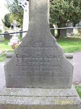 Photo: 6-Charles Kent, died February 28th 1888, aged 42 years