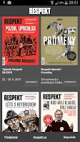 Screenshot of Týdeník Respekt