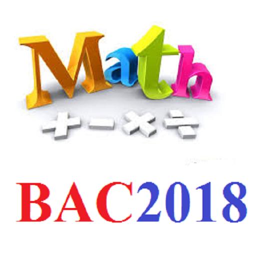 كل ما يخص الرياضيات باك 2018