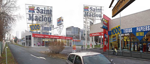 Photo: Saint Maclou gris, Bagnolet, 2008.