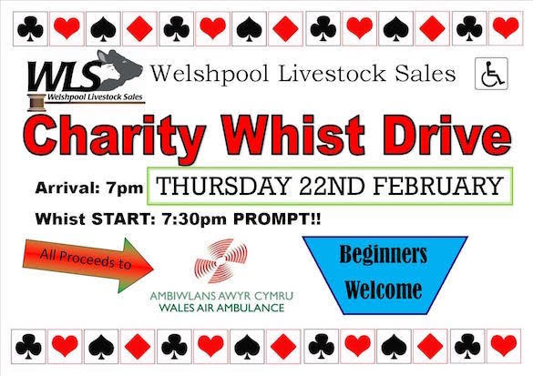 Livestock Sales whist drive