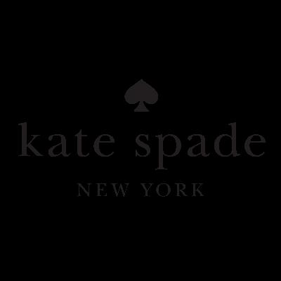 Kate Spade Logo Black Transparent