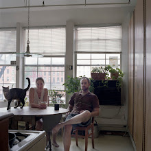 Photo: title: Rachel Myers & Sean Healy, Brooklyn, New York date: 2011 relationship: friends, met through Nat May years known: 0-5
