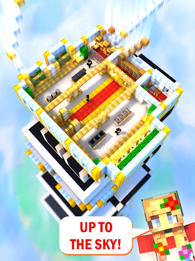 Tower Craft 3D - Idle Block Building Game modavailable screenshots 7