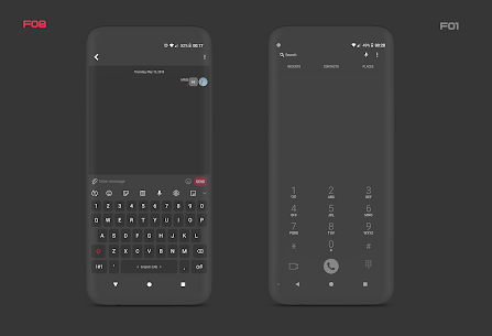 PitchBlack S – Samsung Substratum Theme Oreo/OneUI v28.4 [Patched] 7
