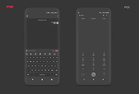 PitchBlack S Samsung Substratum Theme Oreo OneUI 31.1 Patched APK For Android - 12 - images: Download APK free online downloader | Download24h.Net