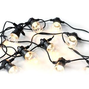 Ghirlanda cu 10 becuri LED, lungime 450 cm, cablu alimentare 5 M