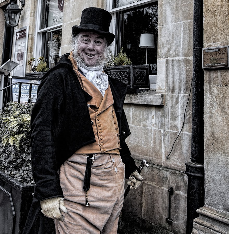 SCENE ON THE STREETS OF YORK by Joanne Graham - People Street & Candids