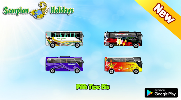 PO Scorpion Holidays Game - screenshot