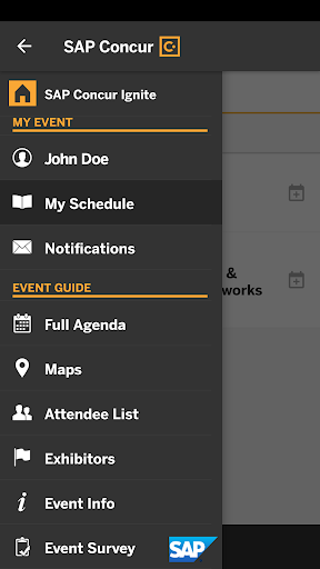 SAP Concur Events 1.0 screenshots 2