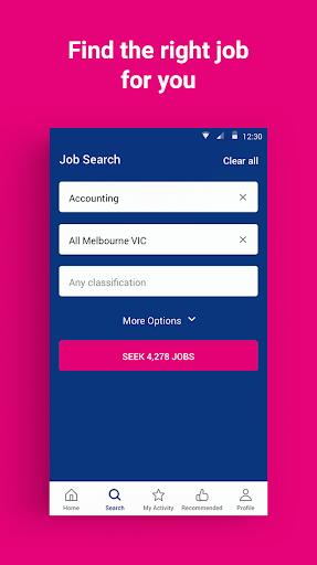 SEEK Job Search android2mod screenshots 1