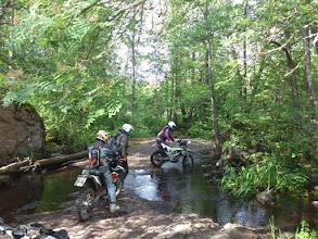 Photo: Flussdurchfahrt bei der EnduroBoxer Tour 2016