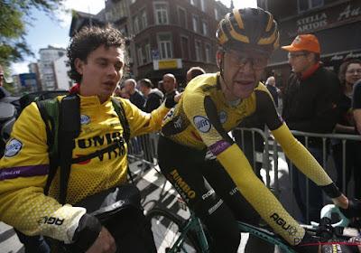 """Laurens De Plus blijft constant op Roglic inpraten: """"Ik hoop dat hij nog een keer kan uitpakken"""""""