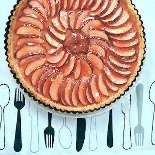 Easy Candy Apple Tart