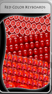 Red Color Keyboards - náhled