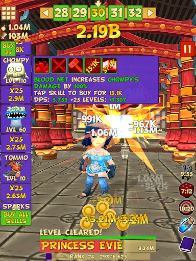 Tap Tap Infinity - Idle RPG 1.7.14 screenshots 13