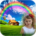 Rainbow Photo Frames - Rain Photo Editor icon