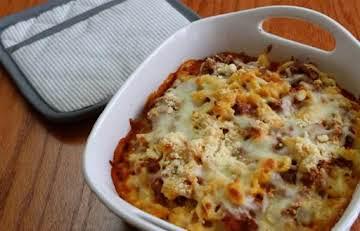 Velveeta Shells & Cheese Lasagna