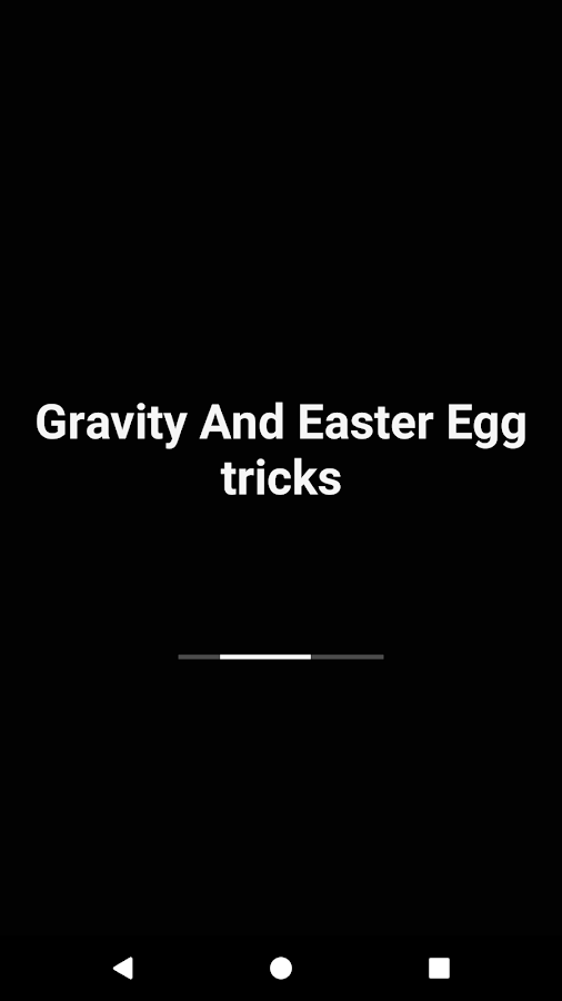 Google Gravity Tricks- screenshot