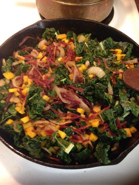 Kale Saute Recipe