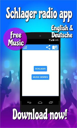 Schlager radio kostenlos: Schlager musik app 1.10 screenshots 1