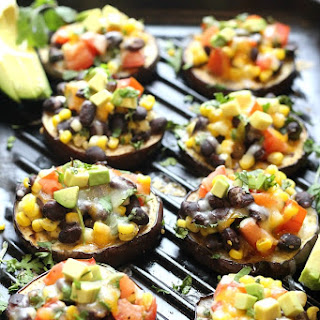 Low Carb Grilled Eggplant Tacos.