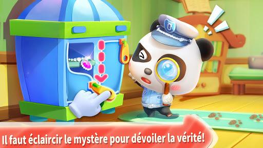 Policier Baby Panda  captures d'écran 2