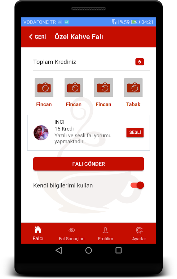 Uzman Falcı- screenshot